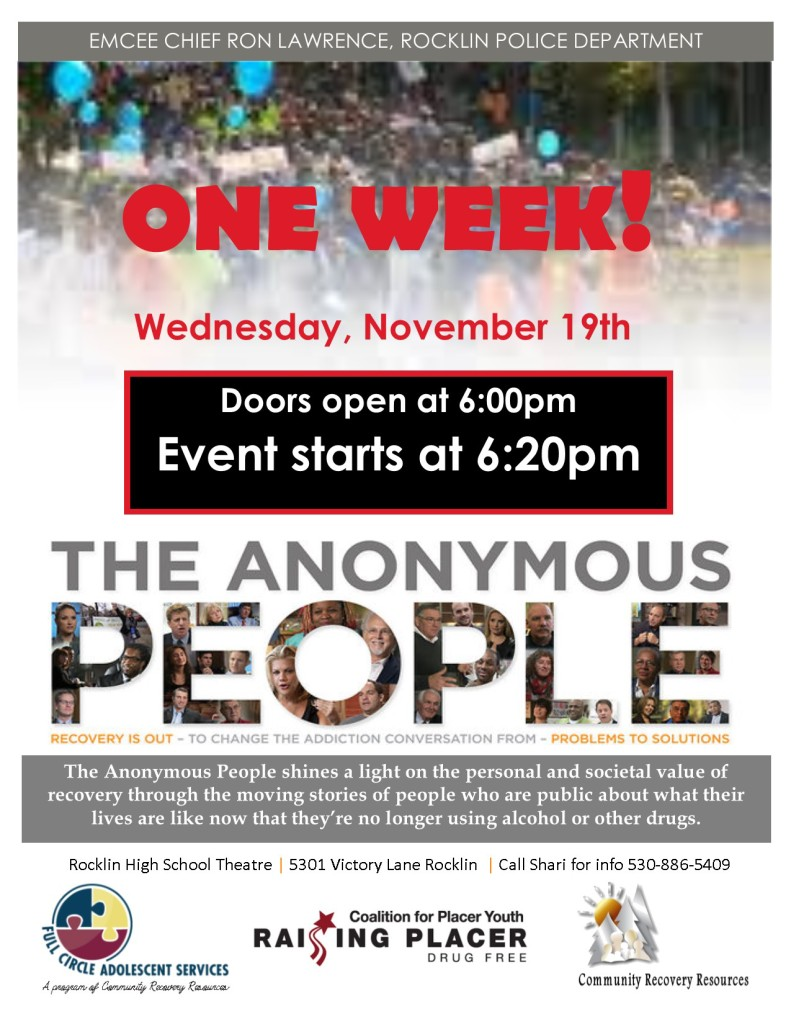 Anonymous People_Film Lecture Series - one week